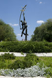 Statue of Rocket Thrower in Flushing Meadows Corona Park, Queens Royalty Free Stock Photo