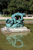 Statue in Rodin Museum Royalty Free Stock Images