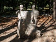 Statue in Rodin Museum in Paris. Stock Photo