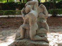 Statue in Rodin Museum in Paris. Stock Photos