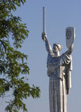 Statue of Rodina Mat in Kiev Royalty Free Stock Images