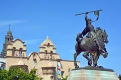 Statue of Rodrigo Diaz de Vivar Stock Photo