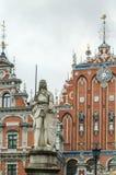 Statue Roland, Riga Stock Images