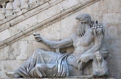 Statue in Rom Stockfotografie