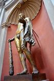 Statue romaine en bronze photographie stock