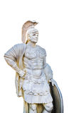 Statue of Roman Centurion. Sculpture of Roman Centurion officer with his shield Royalty Free Stock Photography