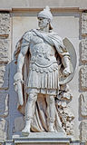 Statue of a Roman Imperator Royalty Free Stock Photos