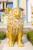 Statue roman lion Stock Photos