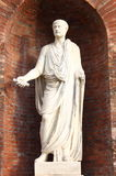 Statue of a roman Senator Stock Photos