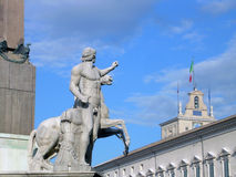 Statue in Rome Royalty Free Stock Images