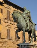 Statue in Rome. Statue in the city of Rome, Italy Royalty Free Stock Images