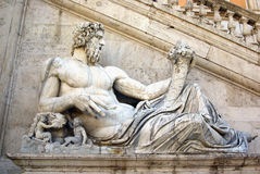 Statue in Rome Stock Photo
