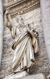 Statue in Rome Royalty Free Stock Photo