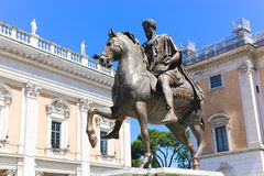 Statue at Rome - Italy Stock Photos