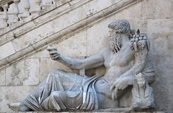 Statue in Rome. Stock Photography