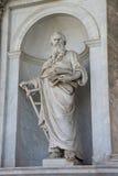 Statue. Rome san paolo italy Royalty Free Stock Photo