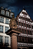 Statue of Romersberg. Shoot of Statue at Romersberg, Frankfurt am Main Royalty Free Stock Photo