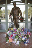 Statue of Ronald Reagan Stock Photos