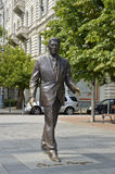 Statue of Ronald Reagan, Budapest Royalty Free Stock Image