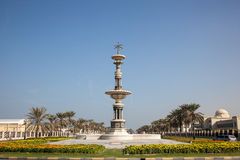 Statue in a roundabout in Sharjah Stock Photo