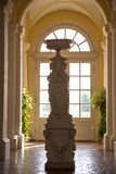 Statue in Rundale Palace, Latvia royalty free stock photos