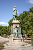 Statue of runeberg in Helsinki Royalty Free Stock Image