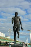 statue of a runner Stock Image