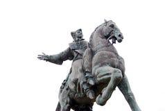 Statue of Russian Empress Elisaveta (Elizabeth). Royalty Free Stock Photo