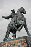 Statue of Russian Empress Elisaveta (Elizabeth) Royalty Free Stock Image