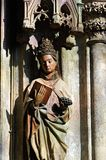 Statue of saint Royalty Free Stock Photo