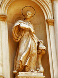 Statue of a saint. Venice, 2006, Italy Royalty Free Stock Photography