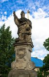 Statue of Saint Augustine Royalty Free Stock Images