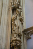 Statue of the saint in the cathedral the Dutch city of Den Bosch Stock Photos