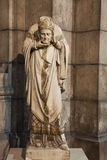 Statue of Saint Denis royalty free stock photography
