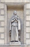 Statue of St. Genevieve in Madeleine Church in Paris Stock Photos