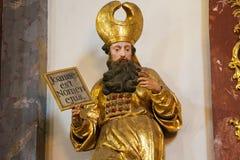 Statue in Loreta Church, Prague Stock Photography