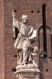 Statue of Saint John of Nepomuk Royalty Free Stock Images