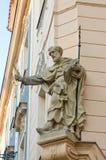 Statue of a Saint, Little Quarter, Prague, Royalty Free Stock Photo