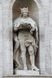 Statue of Saint Louis Stock Images