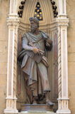 Statue of Saint Lucas Stock Image