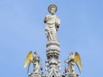 Statue of Saint Marc Royalty Free Stock Photos