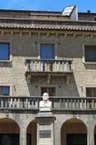 Statue Saint-Marin de Giuseppe Garibaldi Photo libre de droits