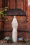 Statue of Saint Mary Stock Images