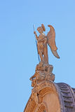 Statue of Saint Michael Royalty Free Stock Images