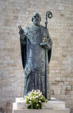 Statue of Saint Nicholas. Bari Stock Photos