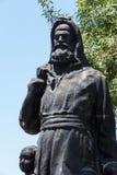 Statue of Saint Nicholas Royalty Free Stock Images