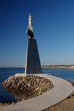 Statue of Saint Nicholas in Nessebar, Bulgaria Royalty Free Stock Image