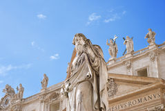 The statue of Saint Paul Royalty Free Stock Image