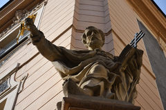 Statue of Saint Peter in Prague Royalty Free Stock Photos