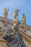 Statue of Saint Peter Stock Photography